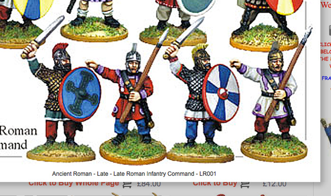 Wargames Foundry Late Imperial Roman