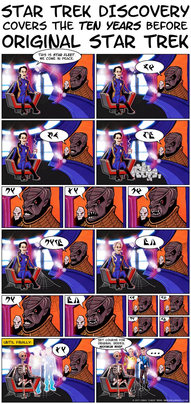 Star Trek Dsicovery Klingon