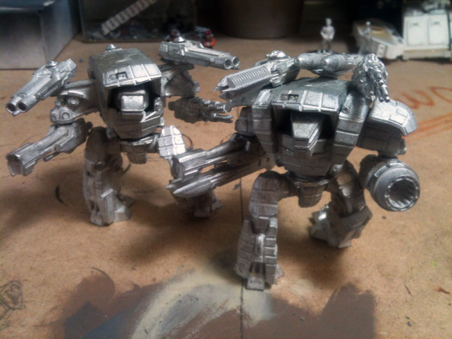 Steel Crown Exodus Wars Behemoths WIP