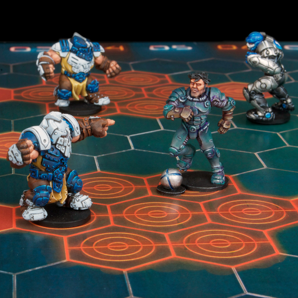 DreadBall Lucky Logan
