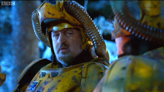 Bill Bailey Doctor Who Space Marine