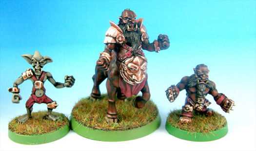 Blood Bowl Chaos Dwarf Bull Centaur