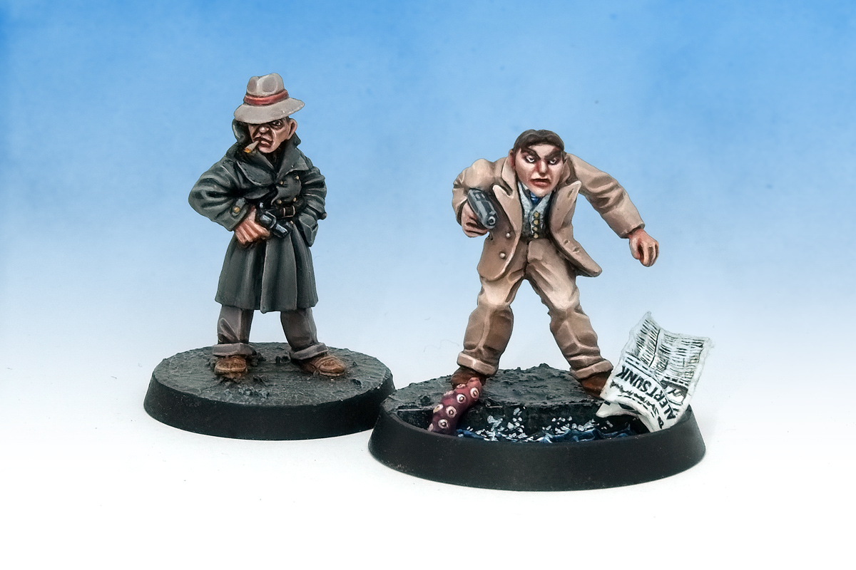 Citadel Call of Cthulhu LE3 Gumshoes Detectives