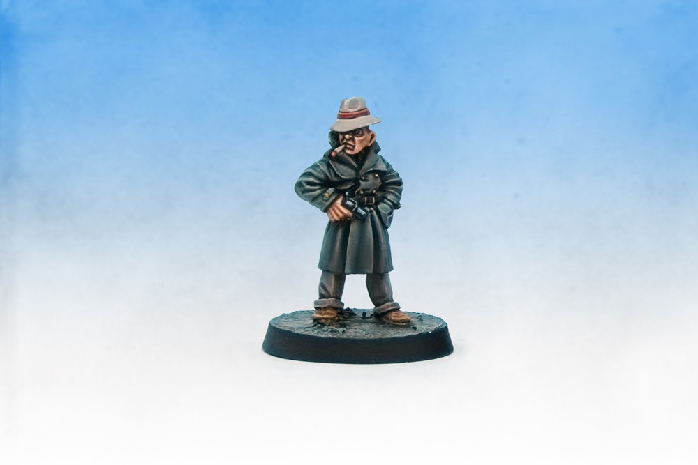 Limited edition Call of Cthulhu Games Workshop Citadel Gumshoes Detective