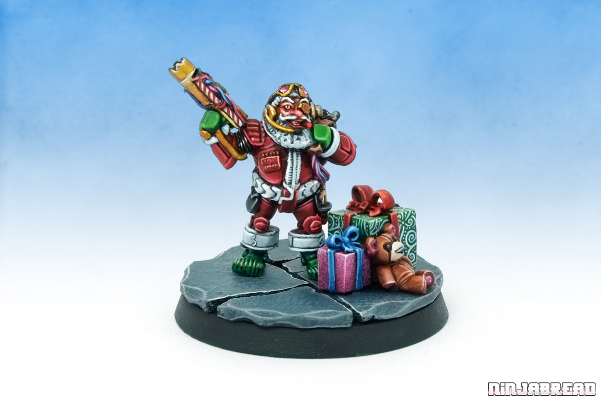 Citadel LE6 Oldhammer Christmas Limited Edition Space Santa