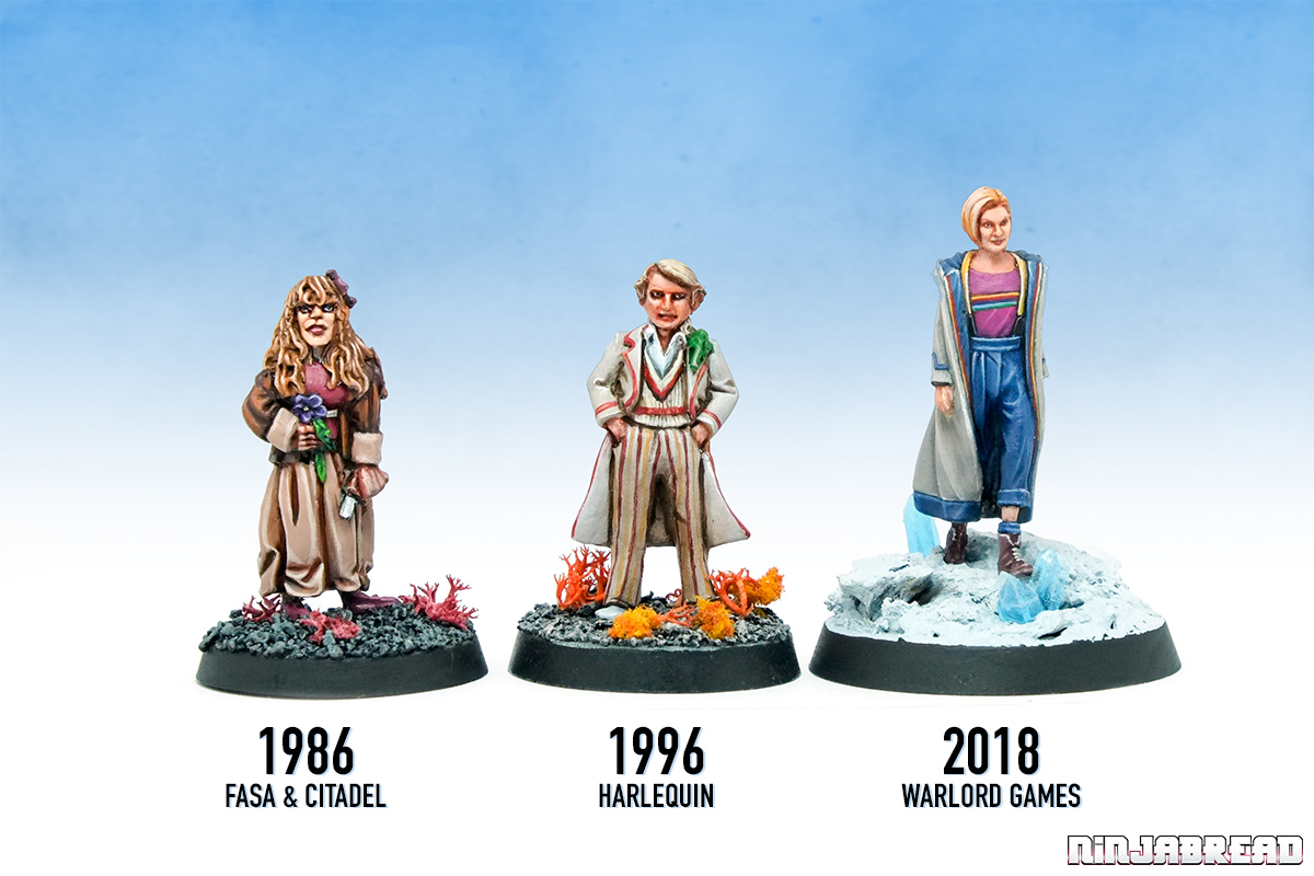 Walord Games' Doctor Who range comparison