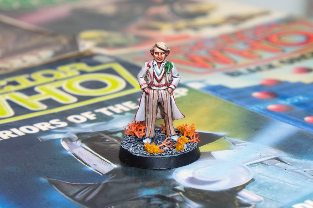 Harlequin's Fifth Doctor Who Miniature