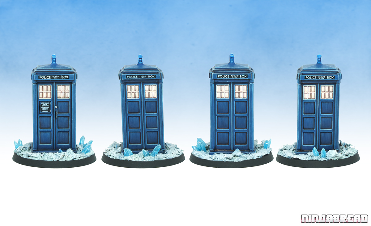 Walord Games' Doctor Who and the TARDIS angles