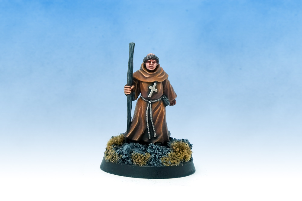 Dungeons and Dragons Warlord Games Friar Tuck