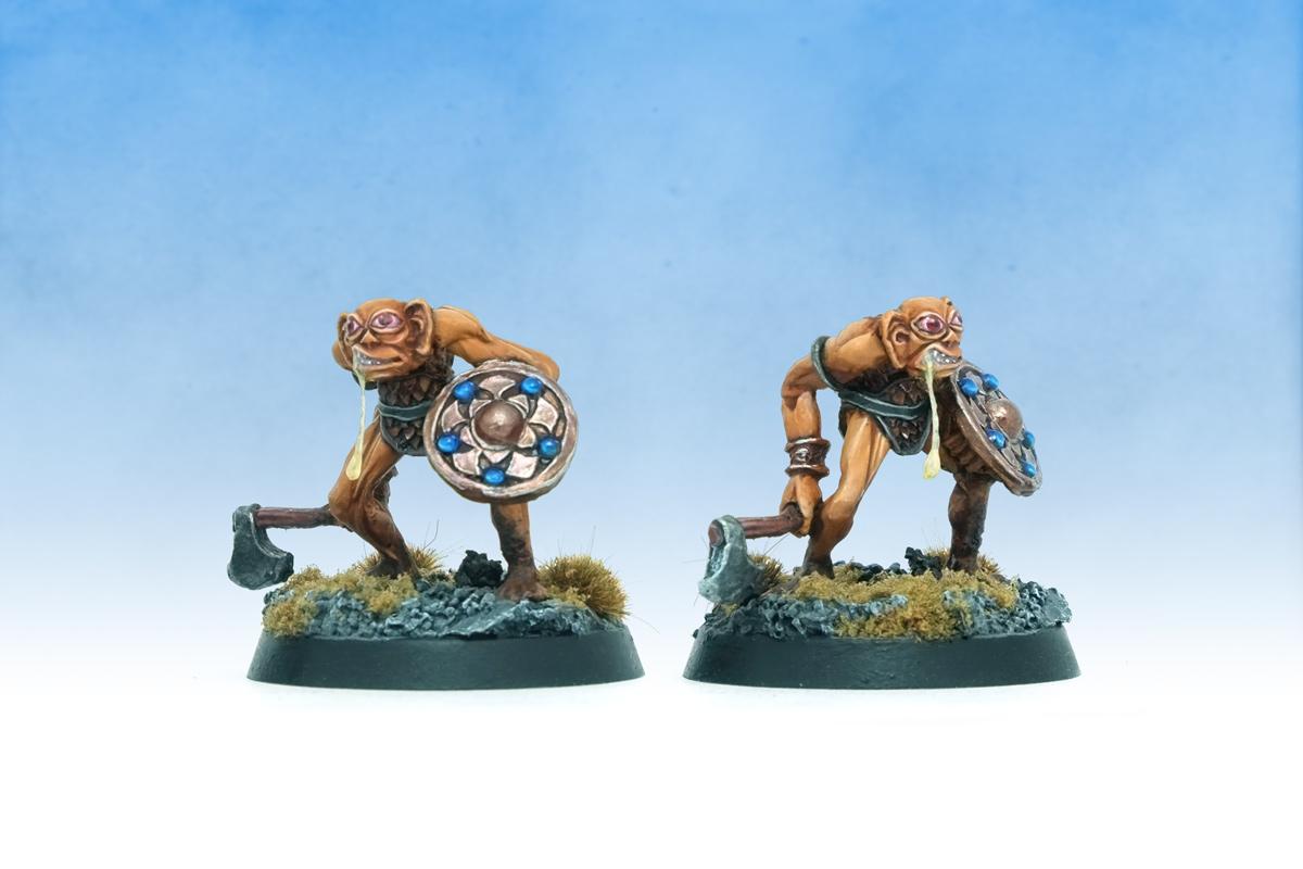 Dungeons & Dragons dnd Gobslob the Bugbear Citadel Miniatures Preslotta Warhammer