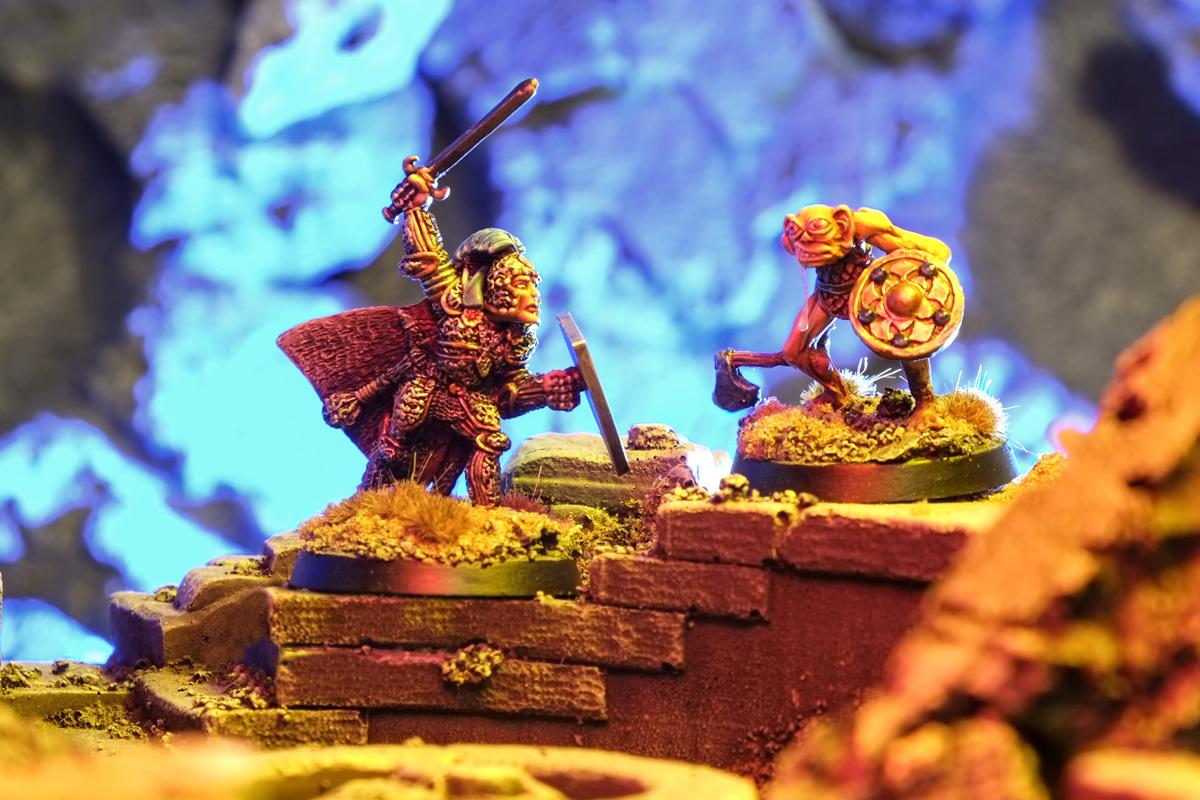Dungeons & Dragons dnd Citadel Miniatures Warhammer Paladin
