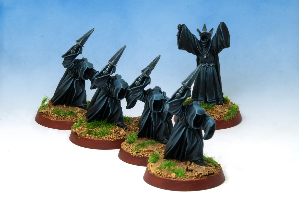 Citadel MERP Ringwraiths Lord of the Rings Nazgul Ringwraiths