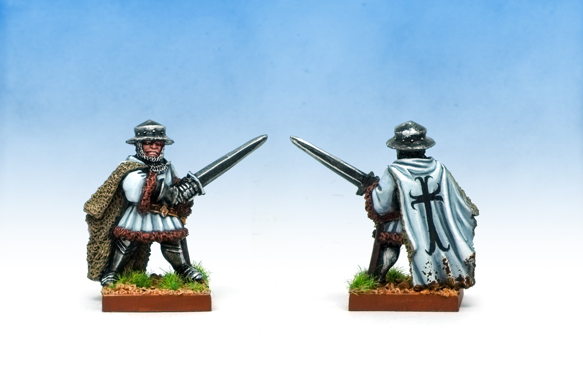 Oldhammer ex-Citadel Blandford Warriors Medieval Warlords Hussite Wars Teutonic Knight