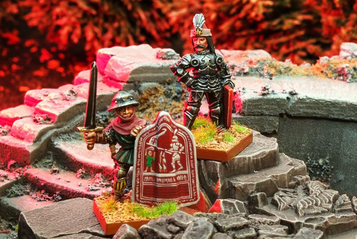 Oldhammer Blandford Warriors ex-Citadel Vlad Dracula