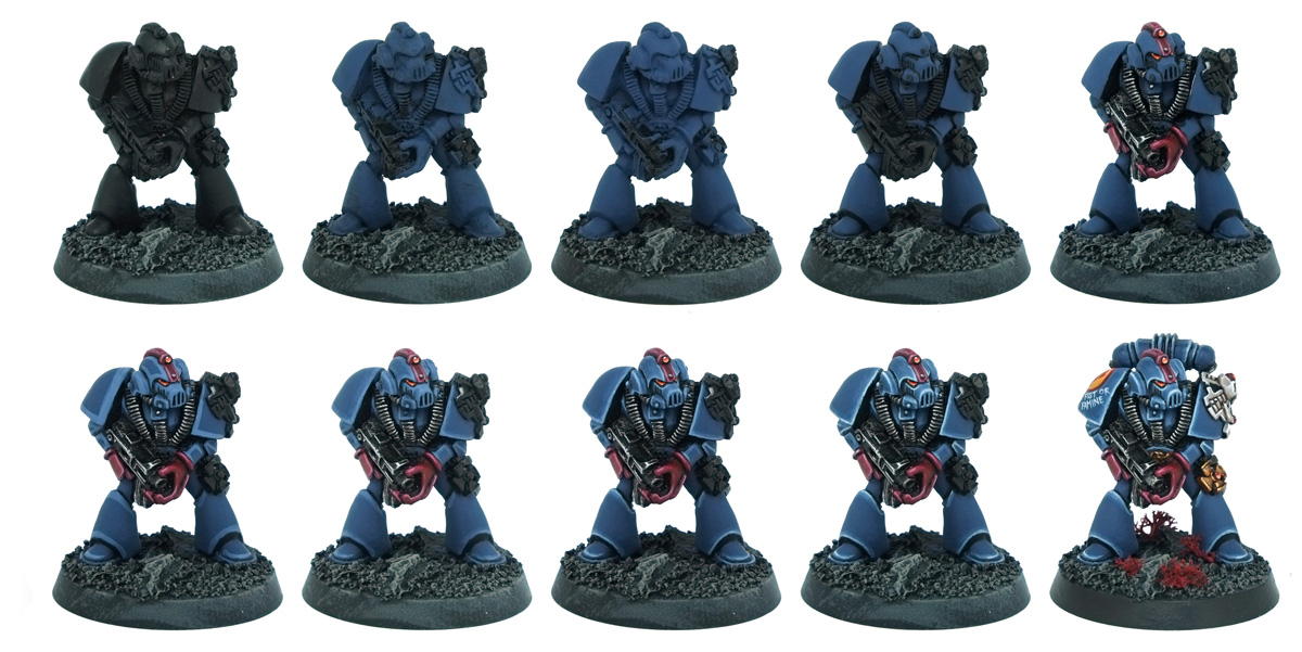 Rogue Trader Crimson Fists Squad Patreon