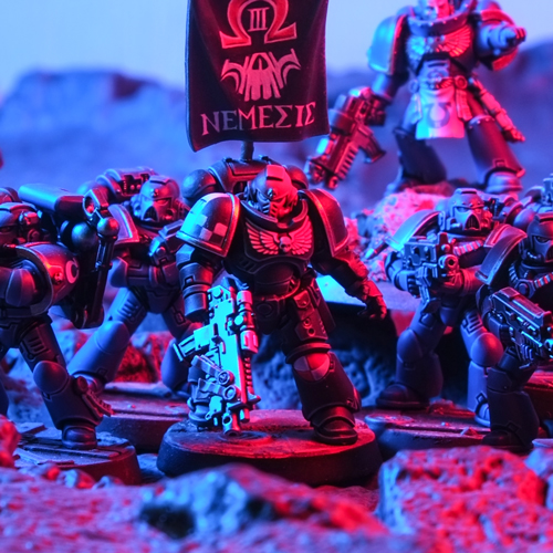 Nemesis Chapter Primaris Intercessor Sergeant Space Marine