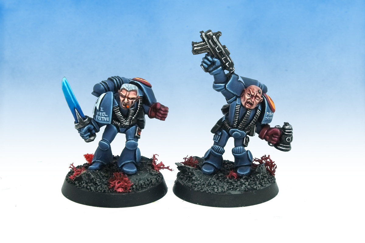 Rogue Trader limited edition Space Marines