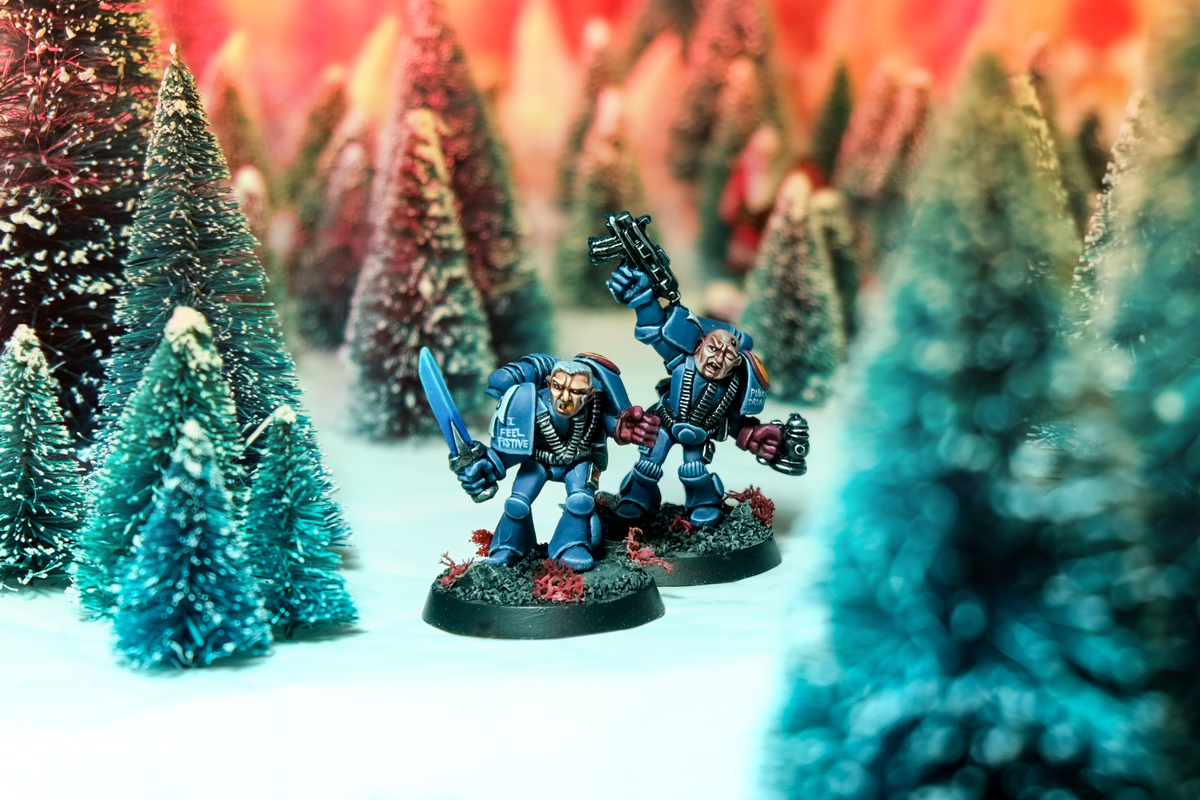 Rogue Trader Christmas Space Marines