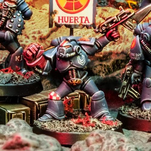 Rogue Trader Crimson Fists Squad Huerta