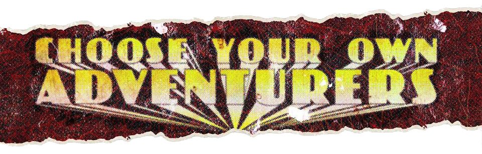 Rogue Trader Choose Your Own Adventurers Logo