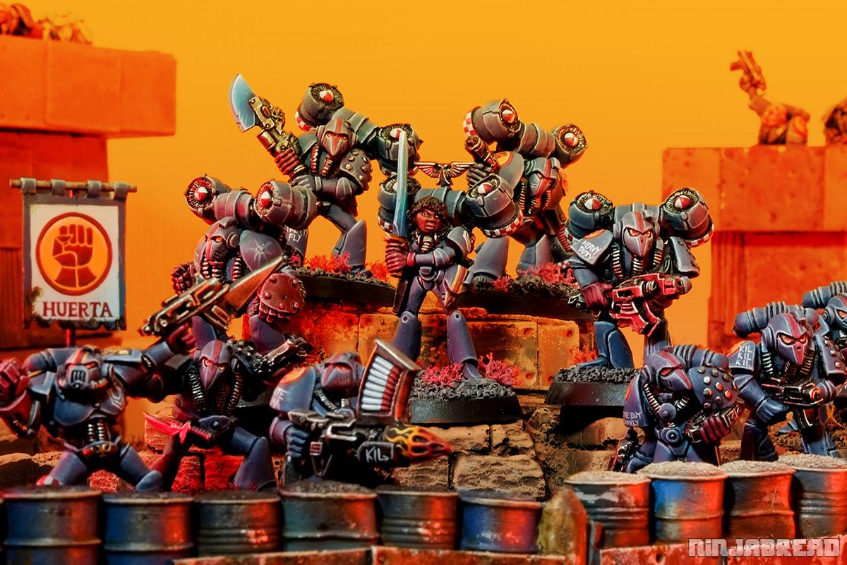 Rogue Trader Crimson Fists Squad Taurasi