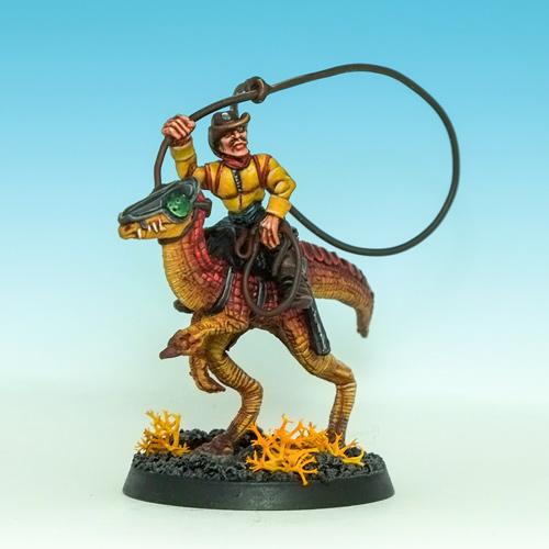 Rogue Trader Lizard – Space Cowboy