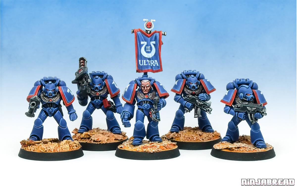 1990s Ultramarines Tactical Squad Rhenus