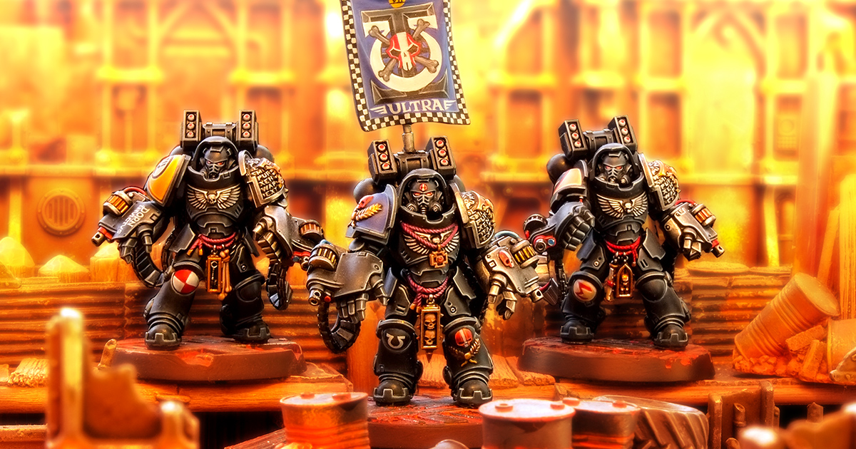 Primaris Deathwatch Aggressors