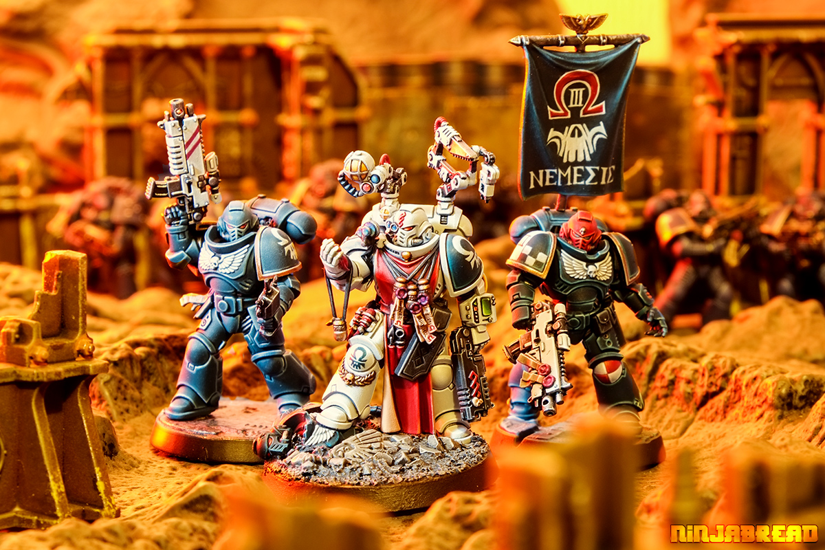 Space Marine Apothecaries – Rogue Trader and Primaris