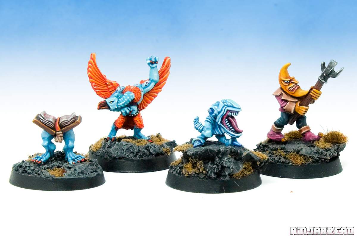 Warhammer Age of Sigmar Oldhammer Silver Tower Chaos Familiars group