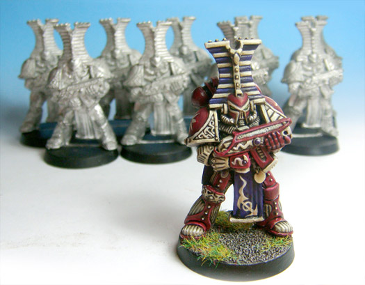 Jes Goodwin's first Thousand Son
