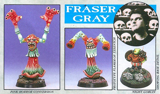 Fraser Grey - well, actually more black and white.