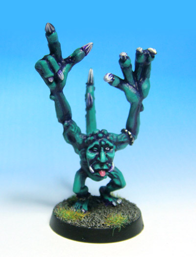 Jade Green Blue Horror of Tzeentch