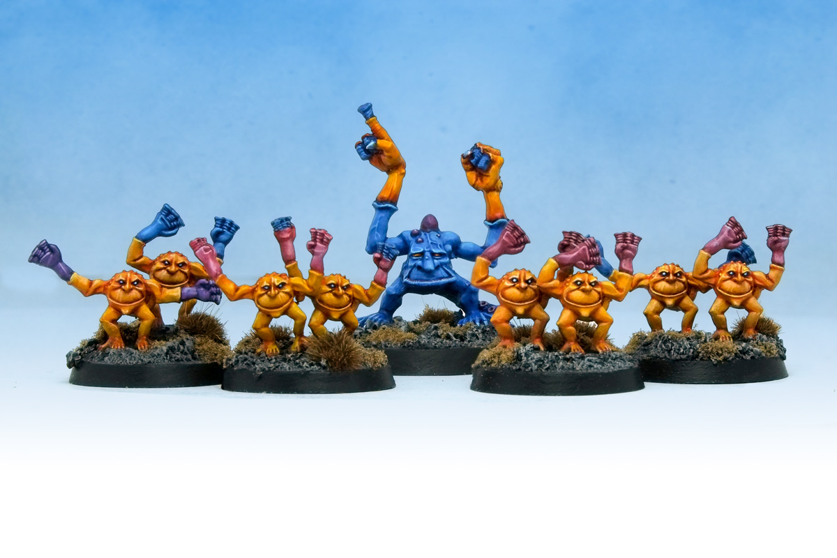 Oldhammer Warhammer Brimstone Horrors of Tzeentch