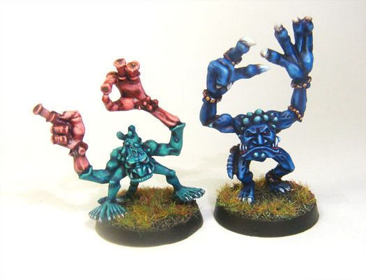 Two Blue Horrors