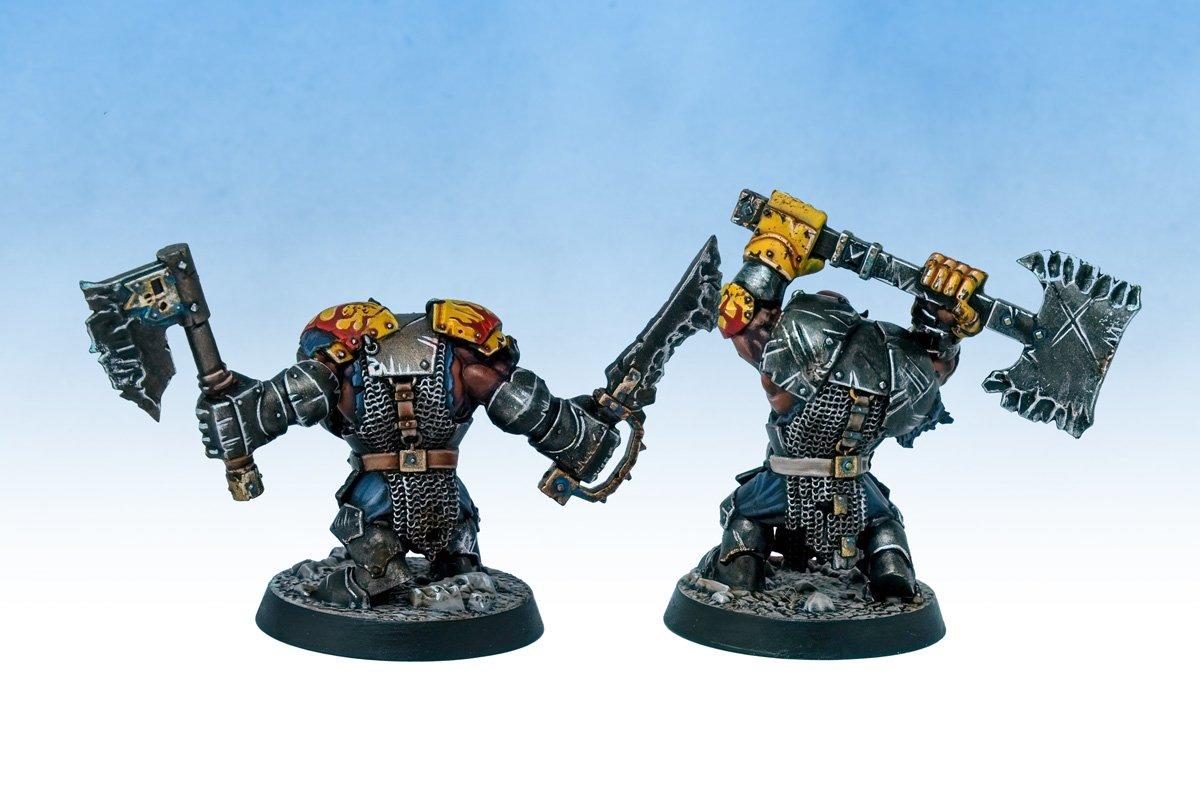 Warhammer Age of Sigmar Shadespire Ironjawz Ironskull's Boyz
