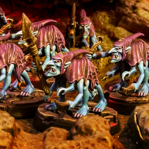 Silver Tower Grot Scuttlings of Tzeentch