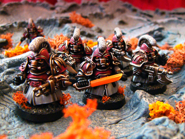 Olley's Armies Iron Guard Scrunts