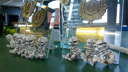Stockport Stockade's excitingly sexy trophies