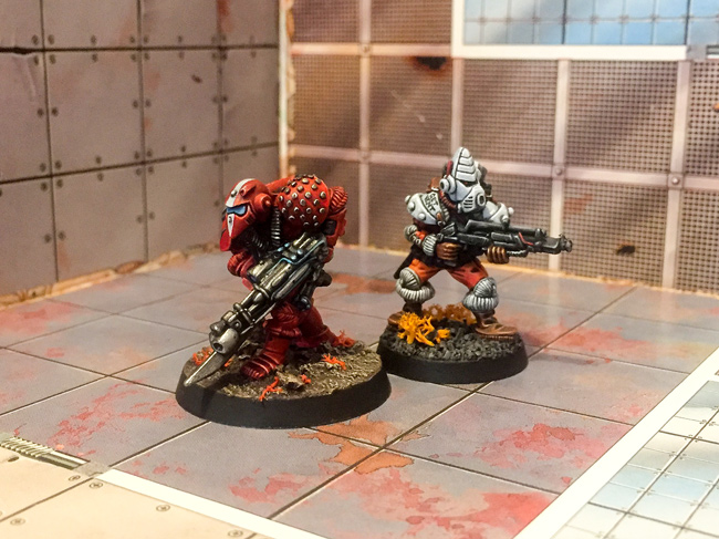 LE02 Space Marine and Ventolin Pirate