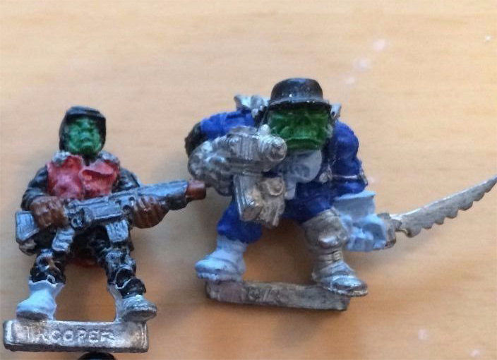 Ork and Not Space Ork