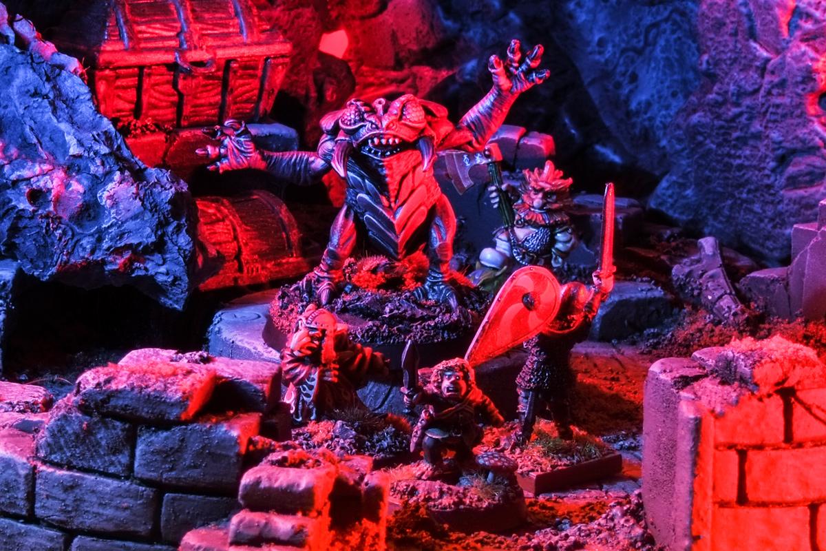 Grenadier Dungeons & Dragons Umber Hulk