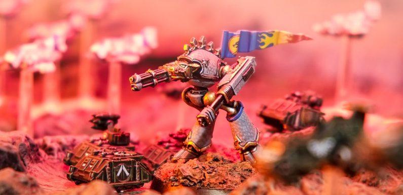 War Griffons Warhound Titan