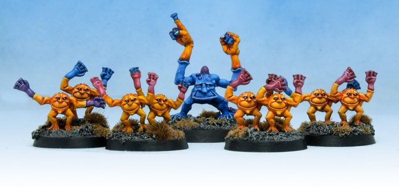 Silver Tower Brimstone Horrors … but Oldhammer