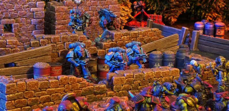 Rogue Trader Crimson Fists Squad Onan