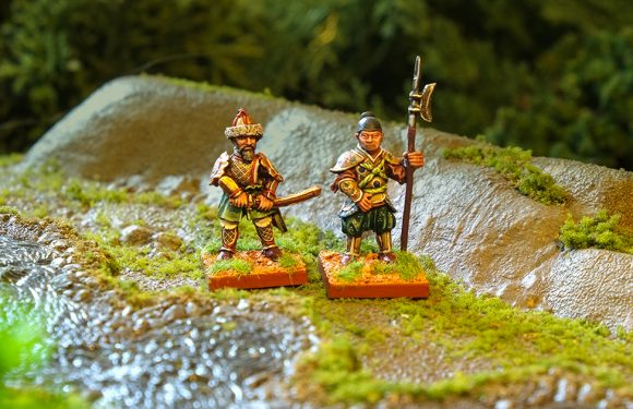 An Lushan and Imperial Guardsman – Blandford Warriors Episodes 8 & 9