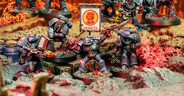 Rogue Trader Crimson Fists Oldhammer Space Marines
