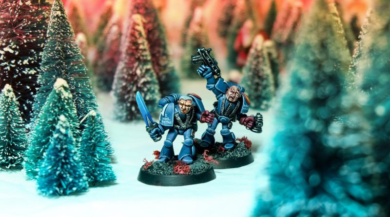 Rogue Trader Christmas Space Marines