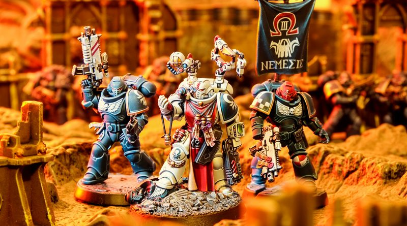 Nemesis Chapter Primaris Space Marines Apothecary